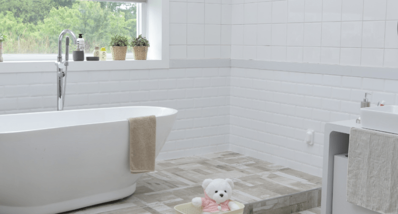 How to Clean Bathroom Tiles
