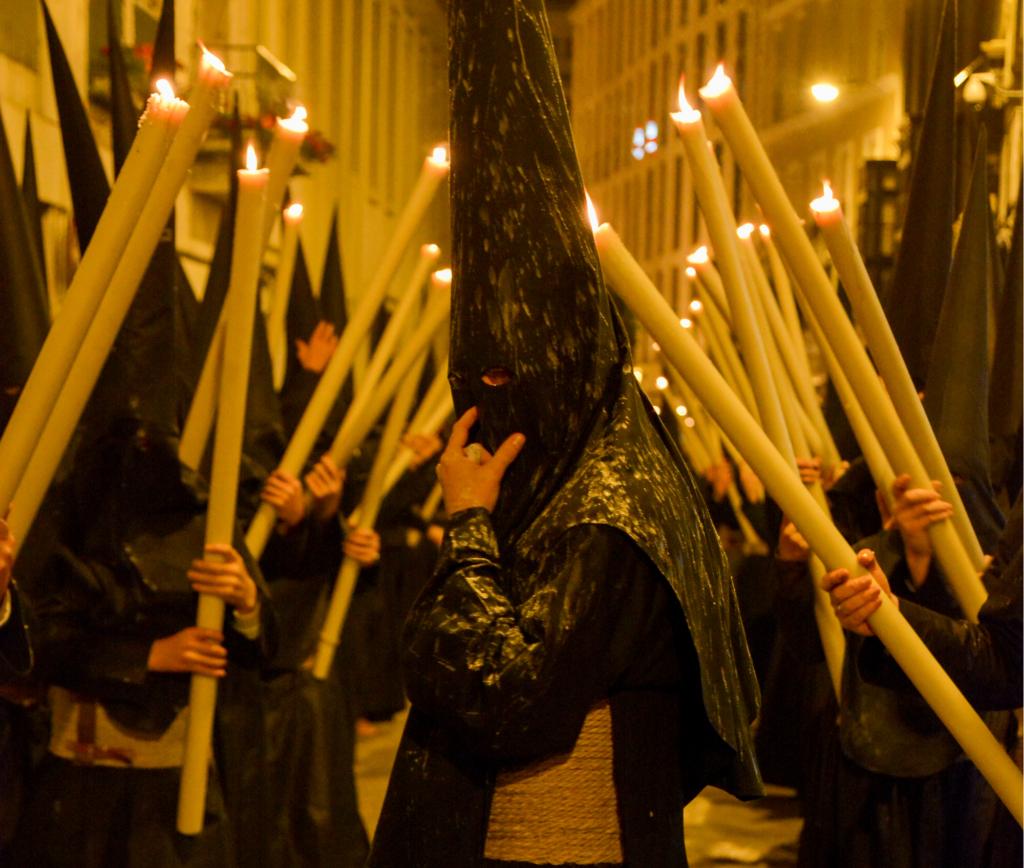 cera de la túnica de nazareno
