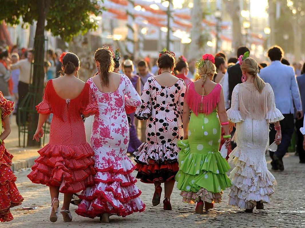 complementos para el traje de flamenca