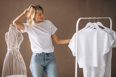 bleach white clothes
