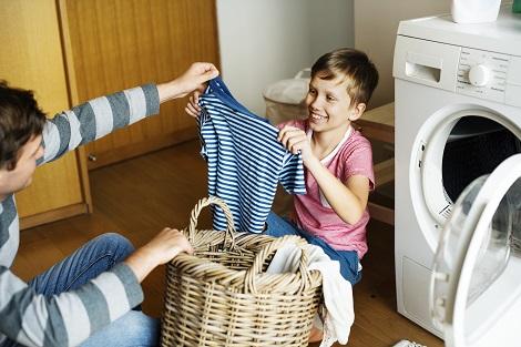 tareas del hogar niños