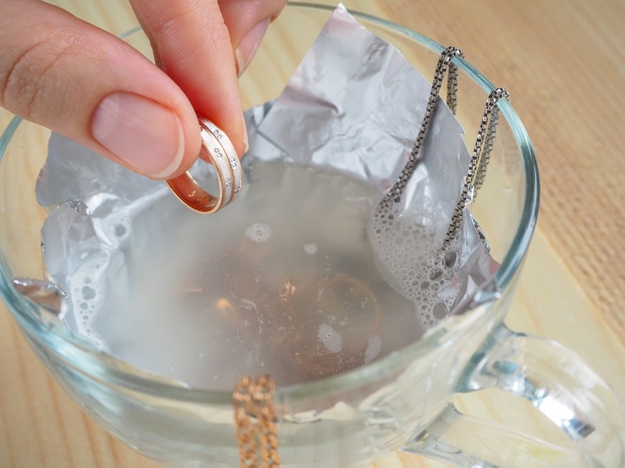 limpiar pendientes de plata