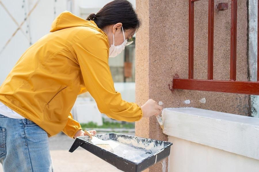 como limpiar una fachada