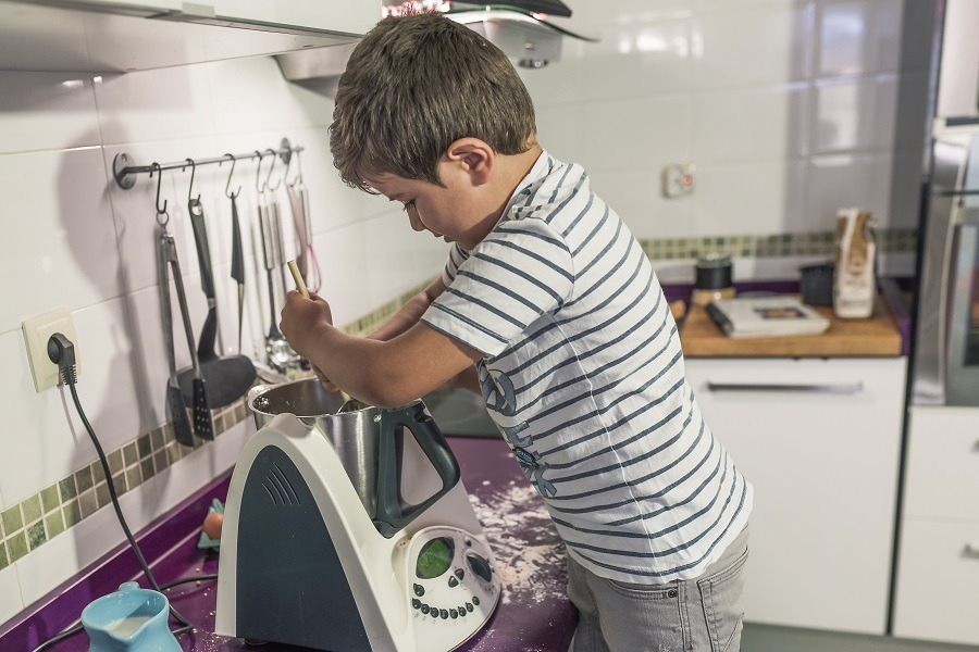 como limpiar robot de cocina