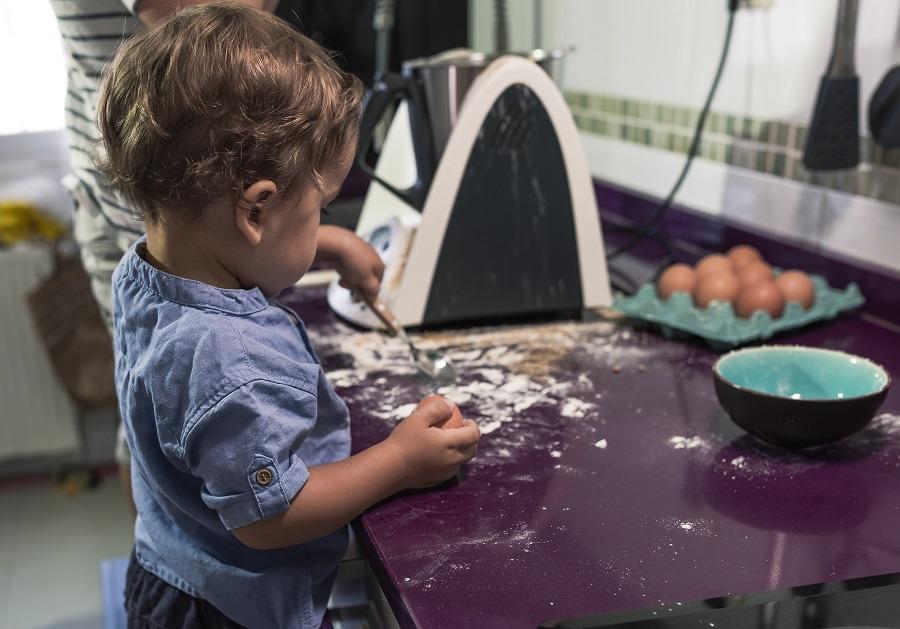 limpiar robot cocina