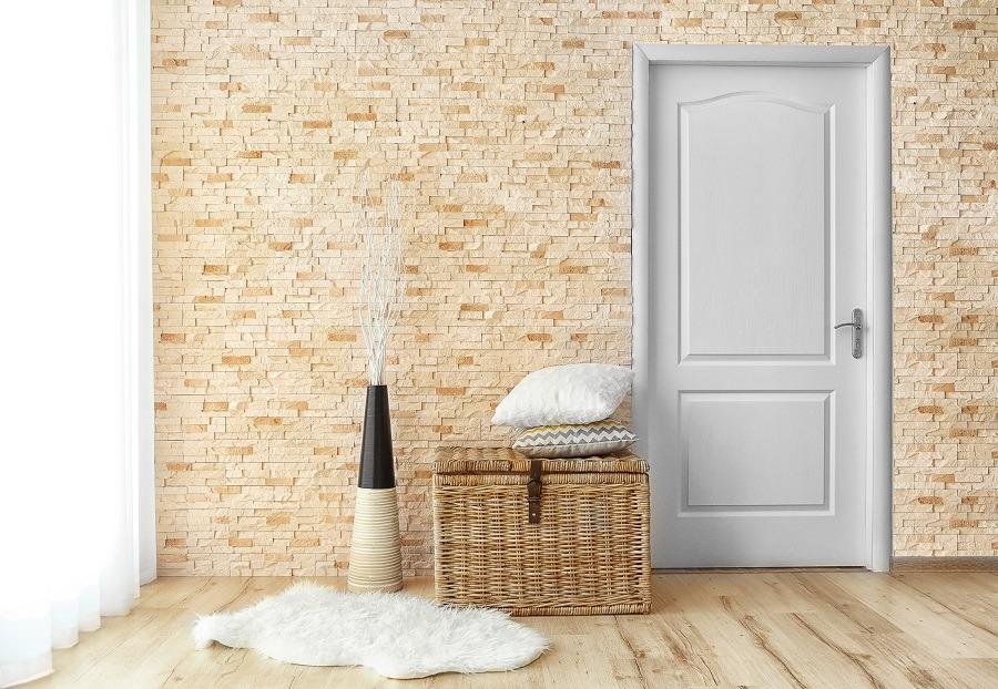 como limpiar puertas lacadas en blanco