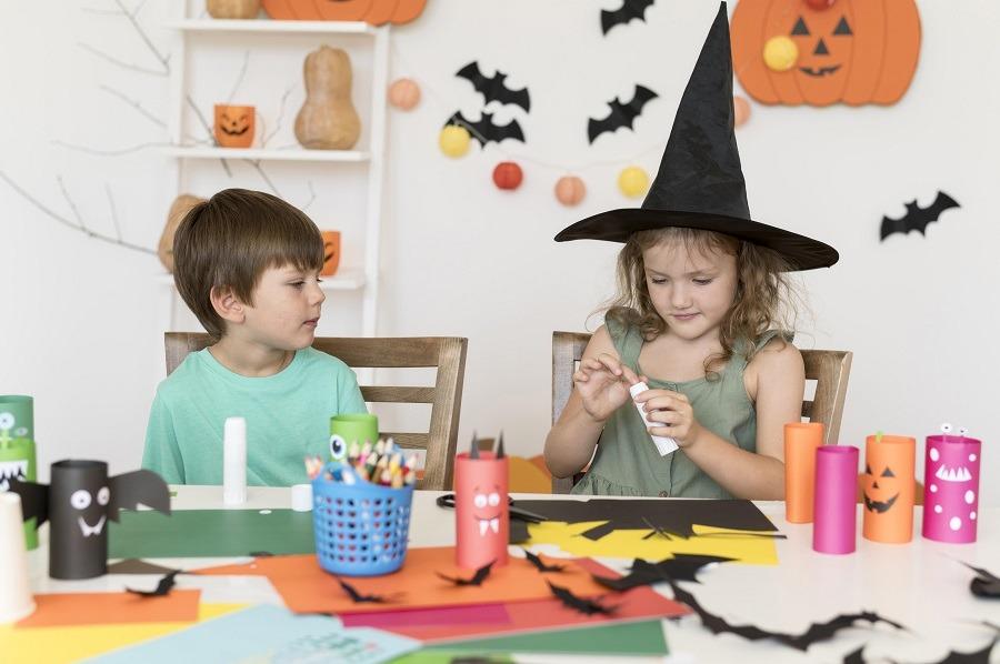 Manualidades para niños divertidas halloween