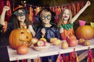 disfraces y decoración hallowen